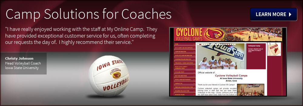Camp Solutions for Coaches