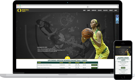 Oregon Women's Basketball Camps