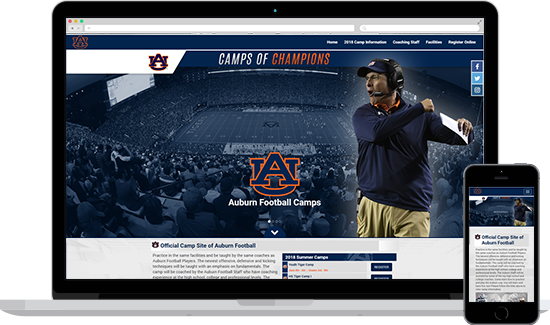 Auburn Football Camps