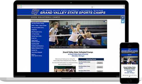 Grand Valley State Volleyball
